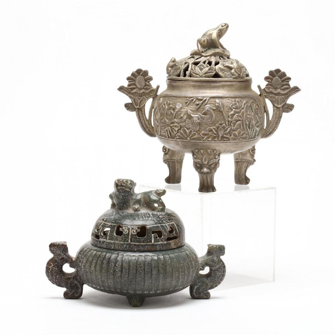 Two Chinese Censers