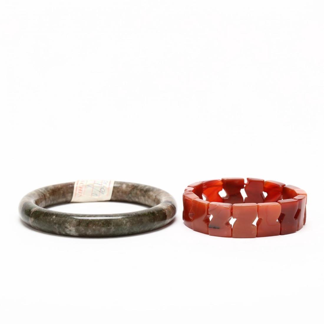 Group of Hardstone Jewelry - 4