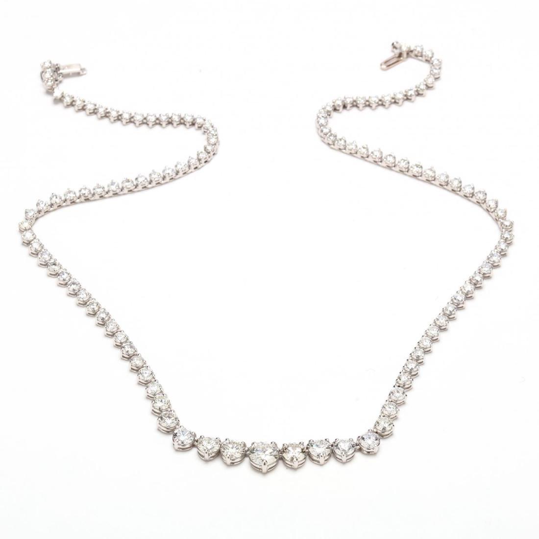 18KT Diamond Riviere Necklace