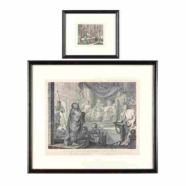 William Hogarth (British, 1697-1764), Two Narrative