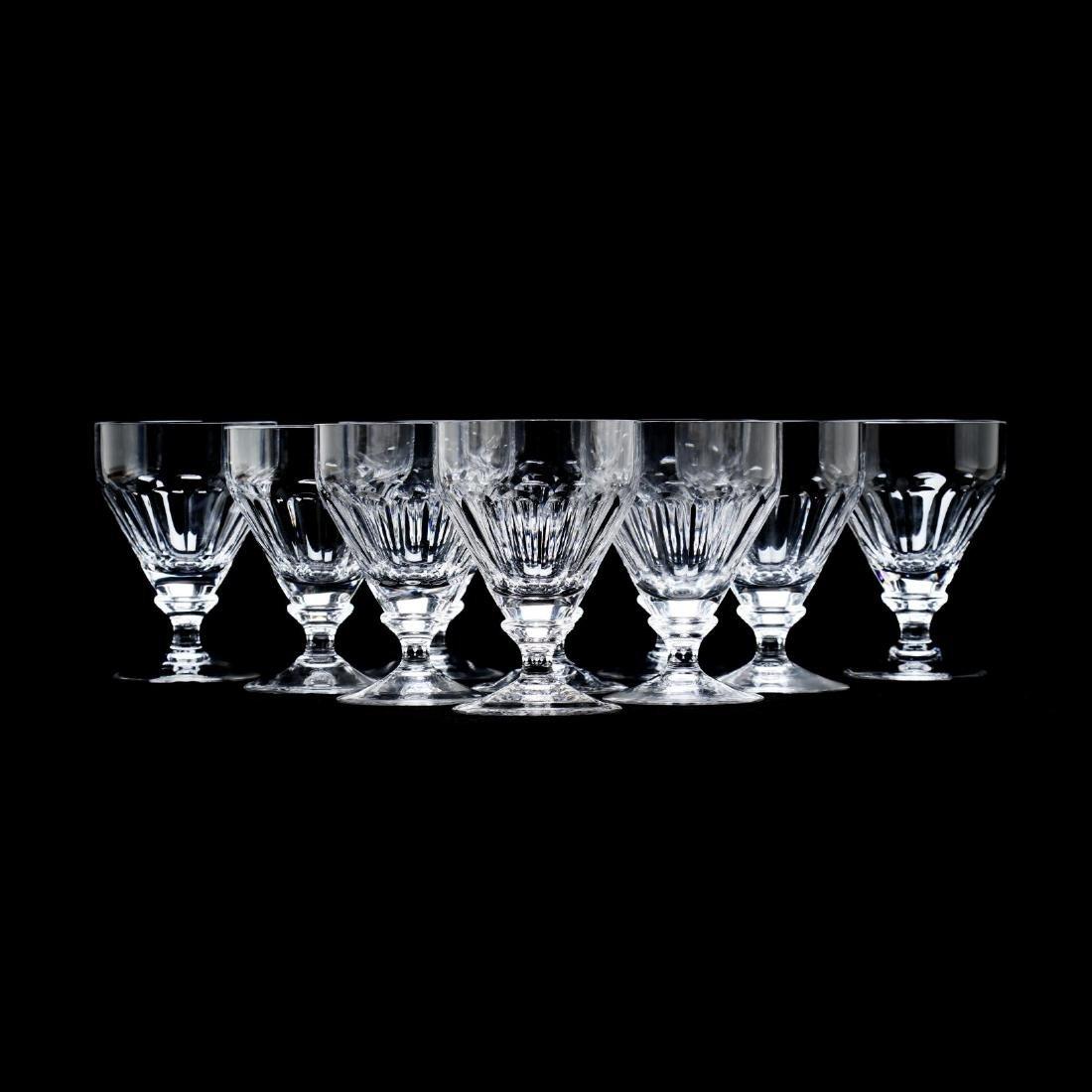 "A Set of Ten William Yeoward ""Iona"" Crystal Large"