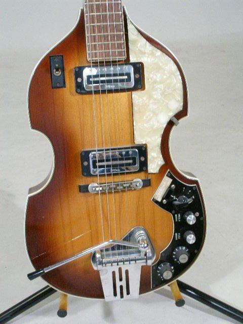 2030: Late 1960s Hofner Viola Electric Guitar, - 5