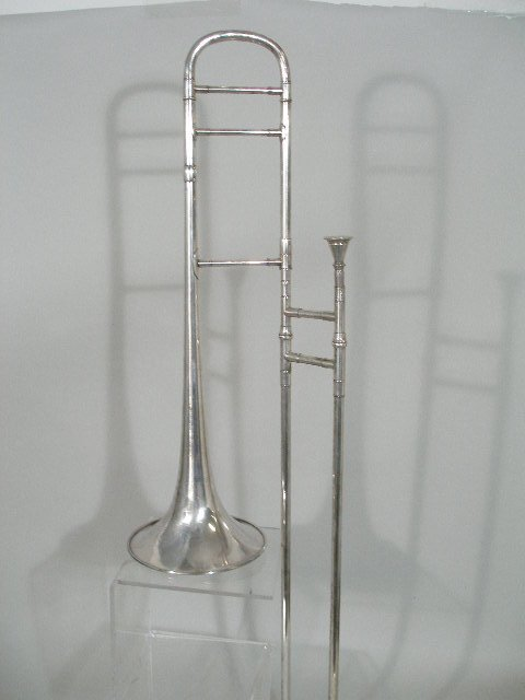 "2039: Vintage J.W. Pepper ""Surprise"" Trombone, - 2"
