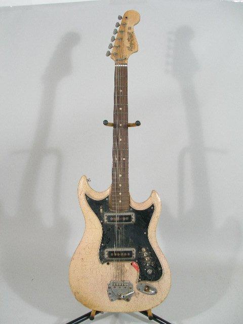 2052: Vintage Hagstrom II Electric Guitar,