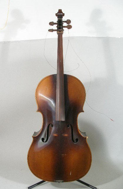 2061: Vintage 4/4 Full Size Kay Cello, c. Late 1930s,
