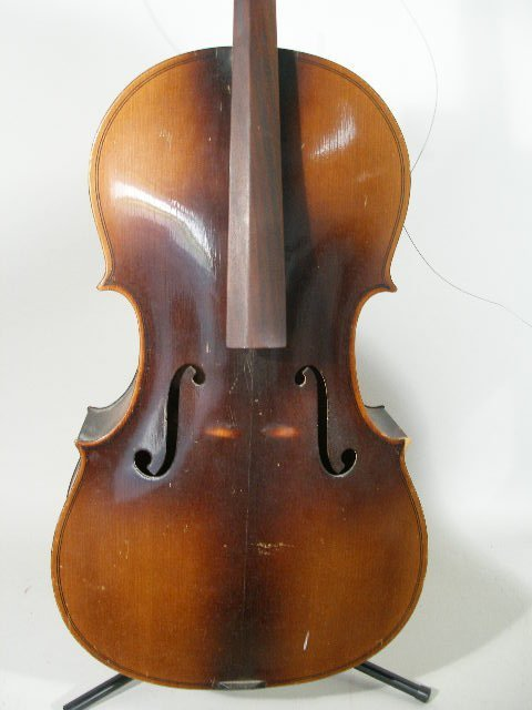 2061: Vintage 4/4 Full Size Kay Cello, c. Late 1930s, - 2