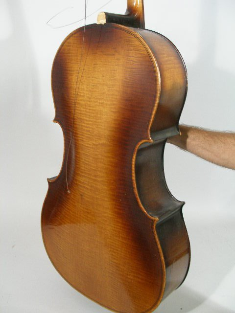 2061: Vintage 4/4 Full Size Kay Cello, c. Late 1930s, - 3