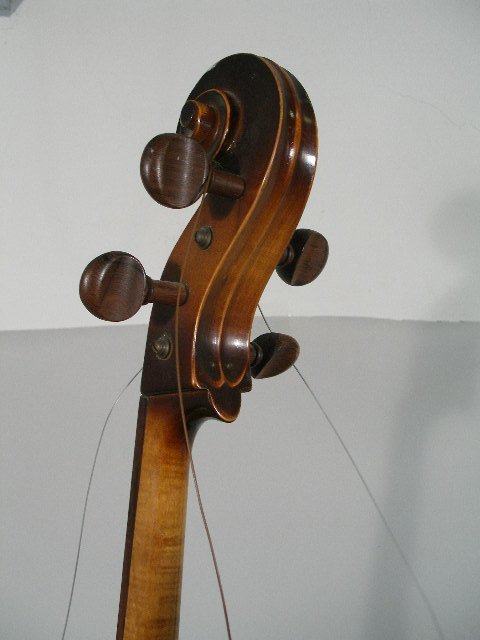 2061: Vintage 4/4 Full Size Kay Cello, c. Late 1930s, - 5