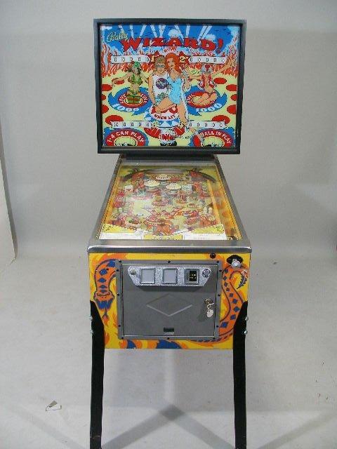 """2066: Bally """"Wizard"""" Pinball Machine, 1975,"""