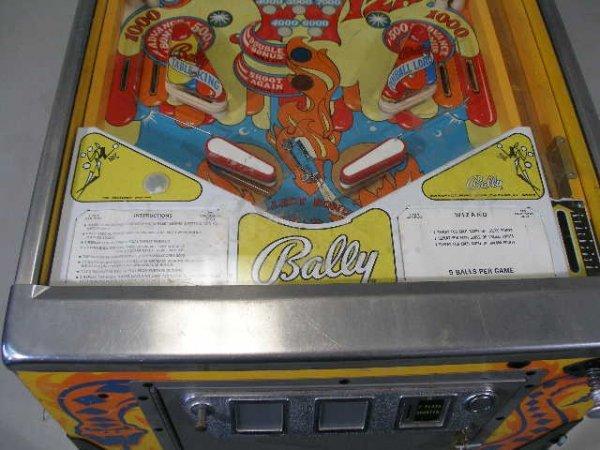"""2066: Bally """"Wizard"""" Pinball Machine, 1975,  - 3"""