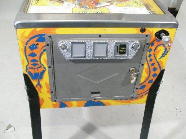 """2066: Bally """"Wizard"""" Pinball Machine, 1975,  - 4"""
