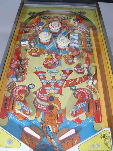 """2066: Bally """"Wizard"""" Pinball Machine, 1975,  - 5"""