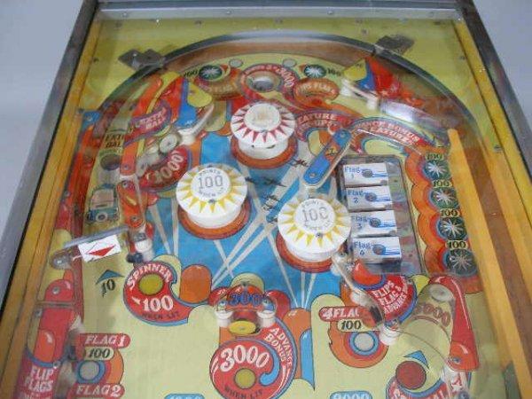 """2066: Bally """"Wizard"""" Pinball Machine, 1975,  - 6"""