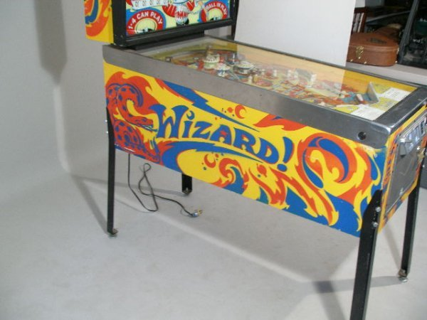 """2066: Bally """"Wizard"""" Pinball Machine, 1975,  - 7"""