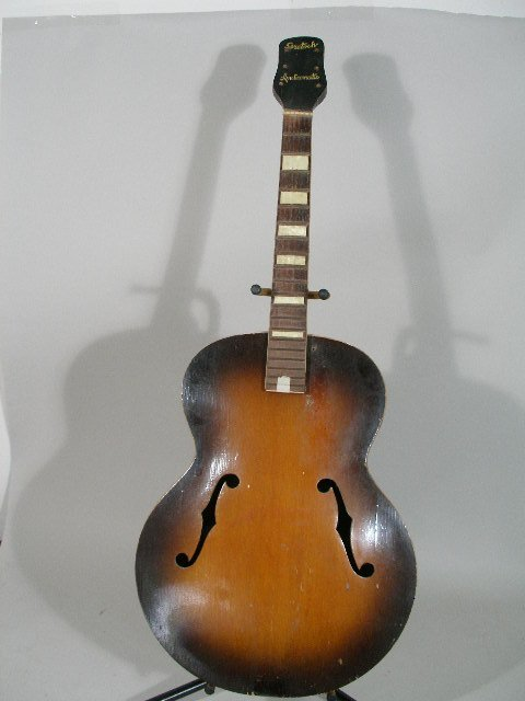 2067: Gretsch Synchromatic Archtop Acoustic Guitar
