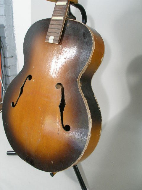 2067: Gretsch Synchromatic Archtop Acoustic Guitar - 4