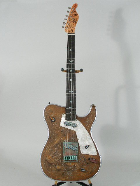 2080: Girl Brand Electric Guitar by James Larson,