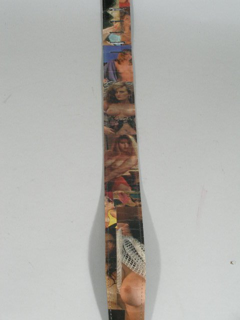 2089: Vintage Nude Women Guitar Strap by Earth Strap, - 3