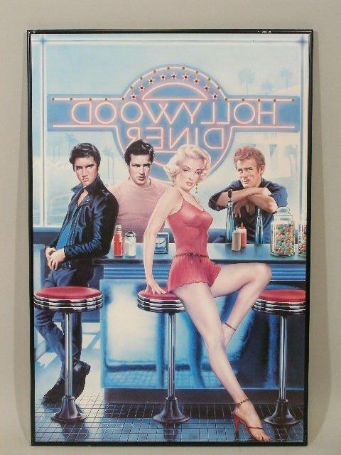 "2110: ""Hollywood Diner"" Poster,"