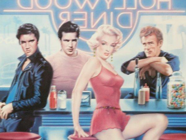 "2110: ""Hollywood Diner"" Poster, - 2"