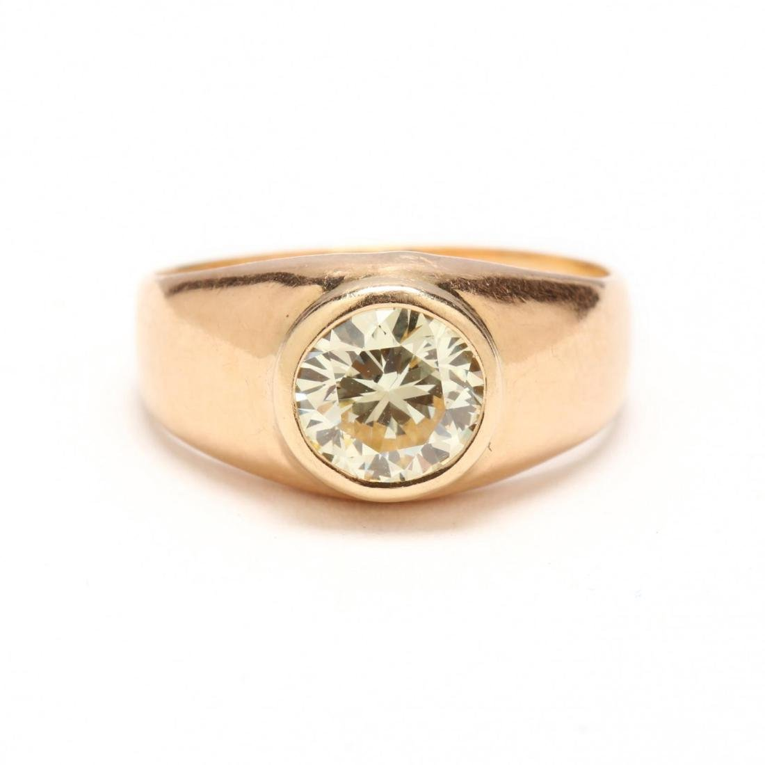 Vintage 14KT Gold and Diamond Ring