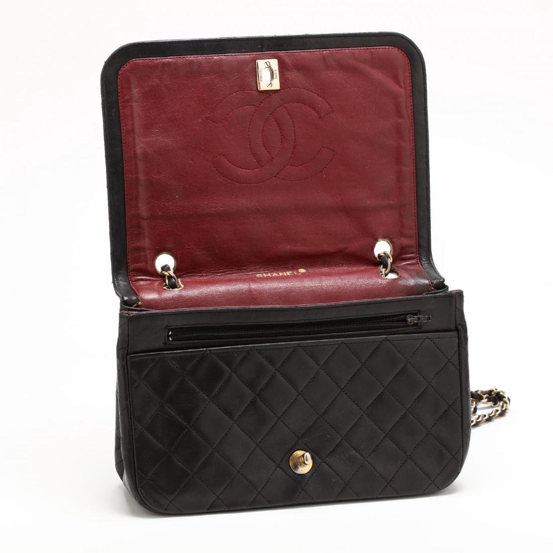 Vintage Full Flap Crossbody Bag, Chanel - 5