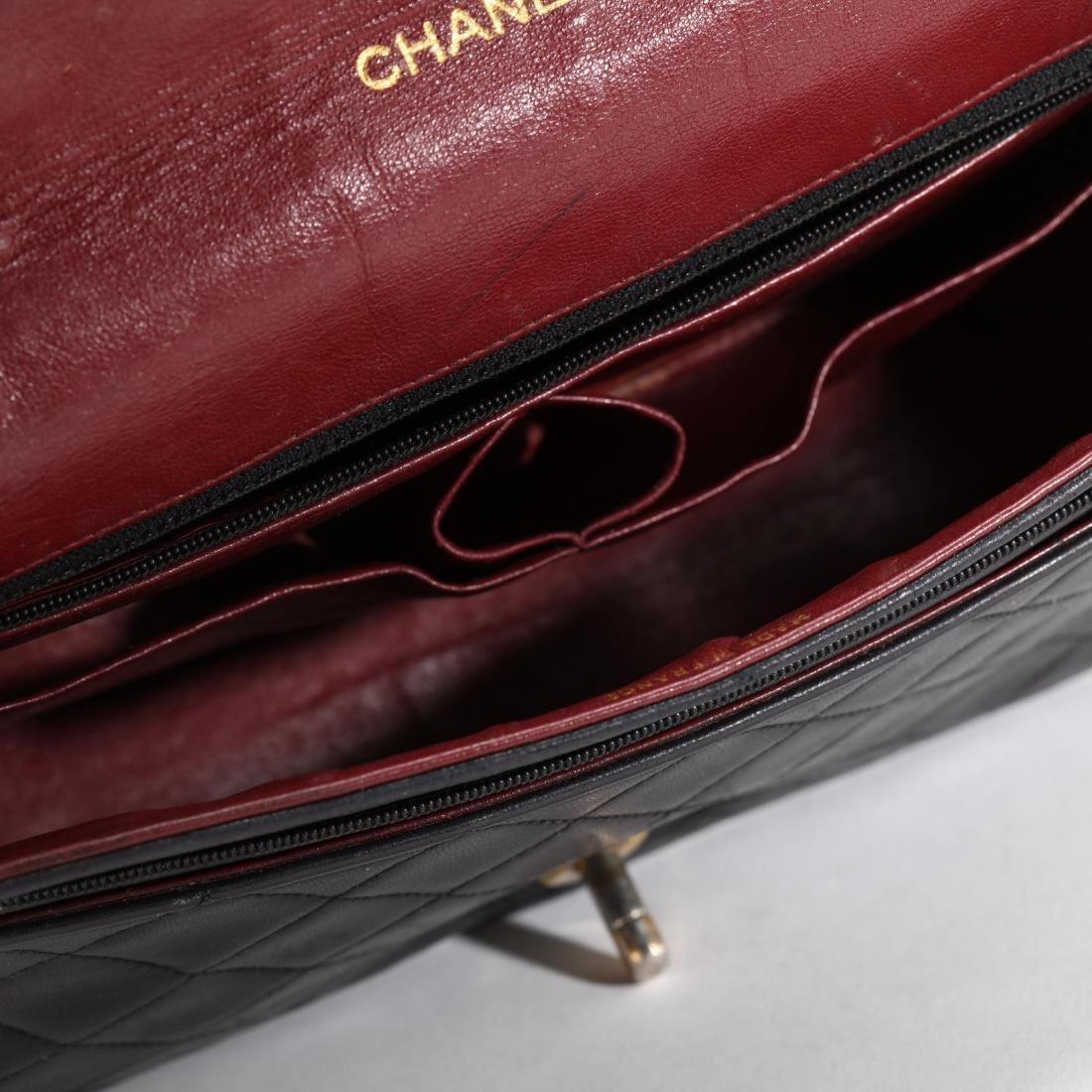 Vintage Full Flap Crossbody Bag, Chanel - 6