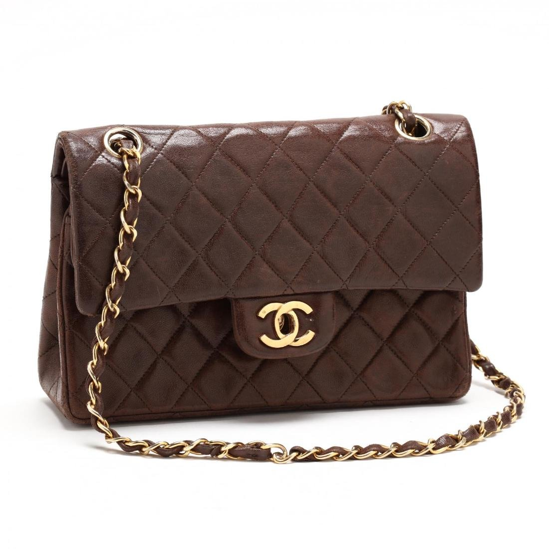 Classic Small Double Flap Shoulder Bag, Chanel