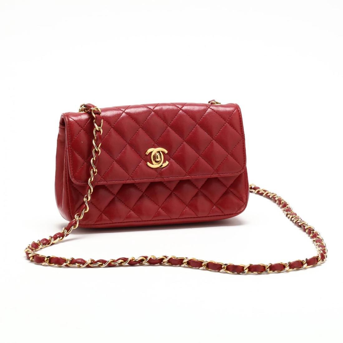 Small Rectangular Flap Shoulder Bag, Chanel