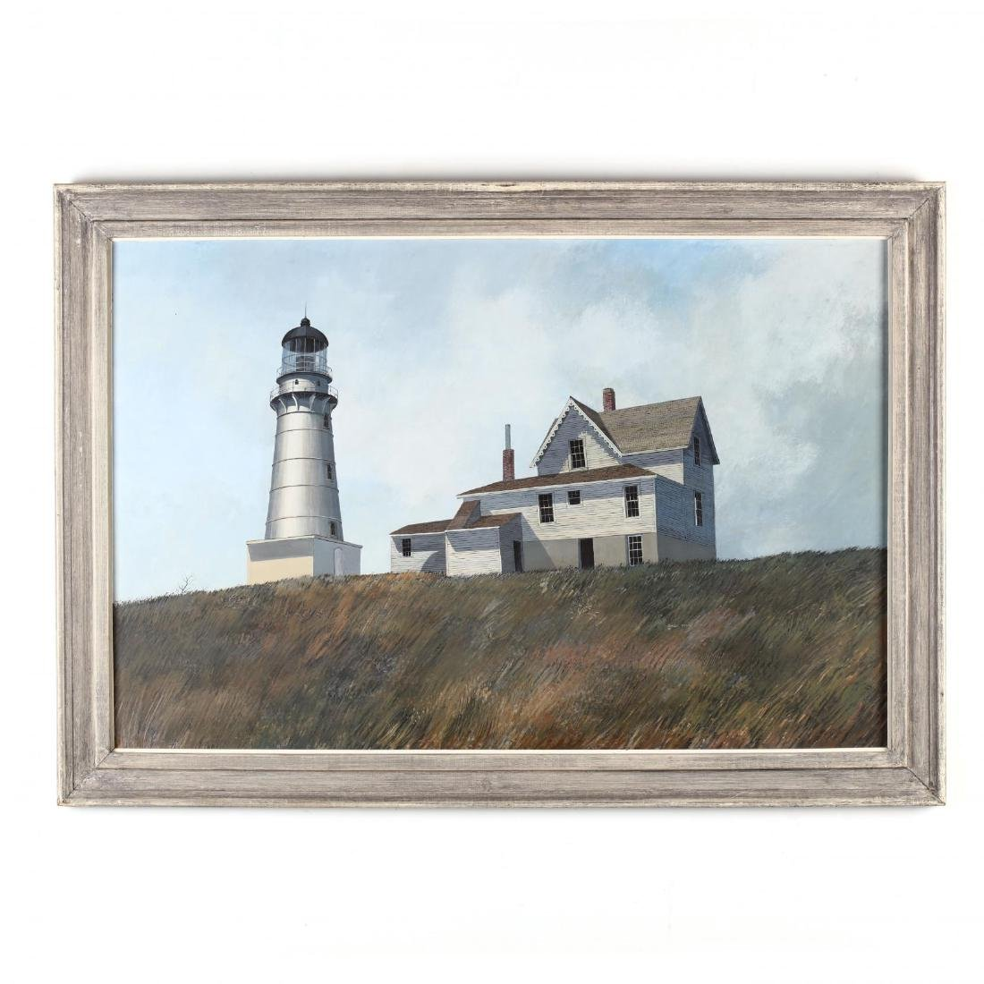 Darell Koons (SC/MI, 1924-2016),  Maine Lighthouse