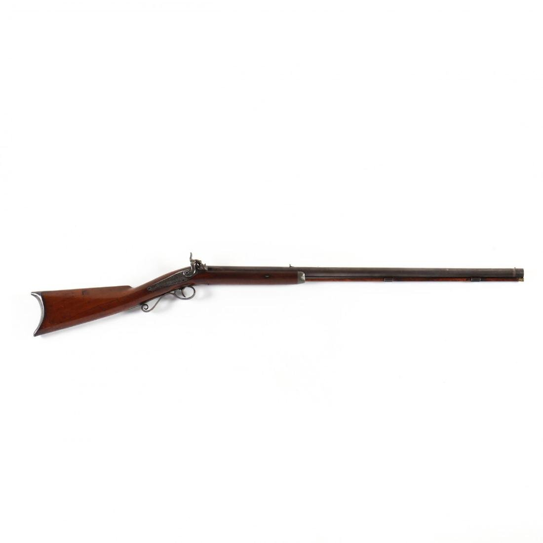 Rare W. Roberts Dated Percussion Rifle
