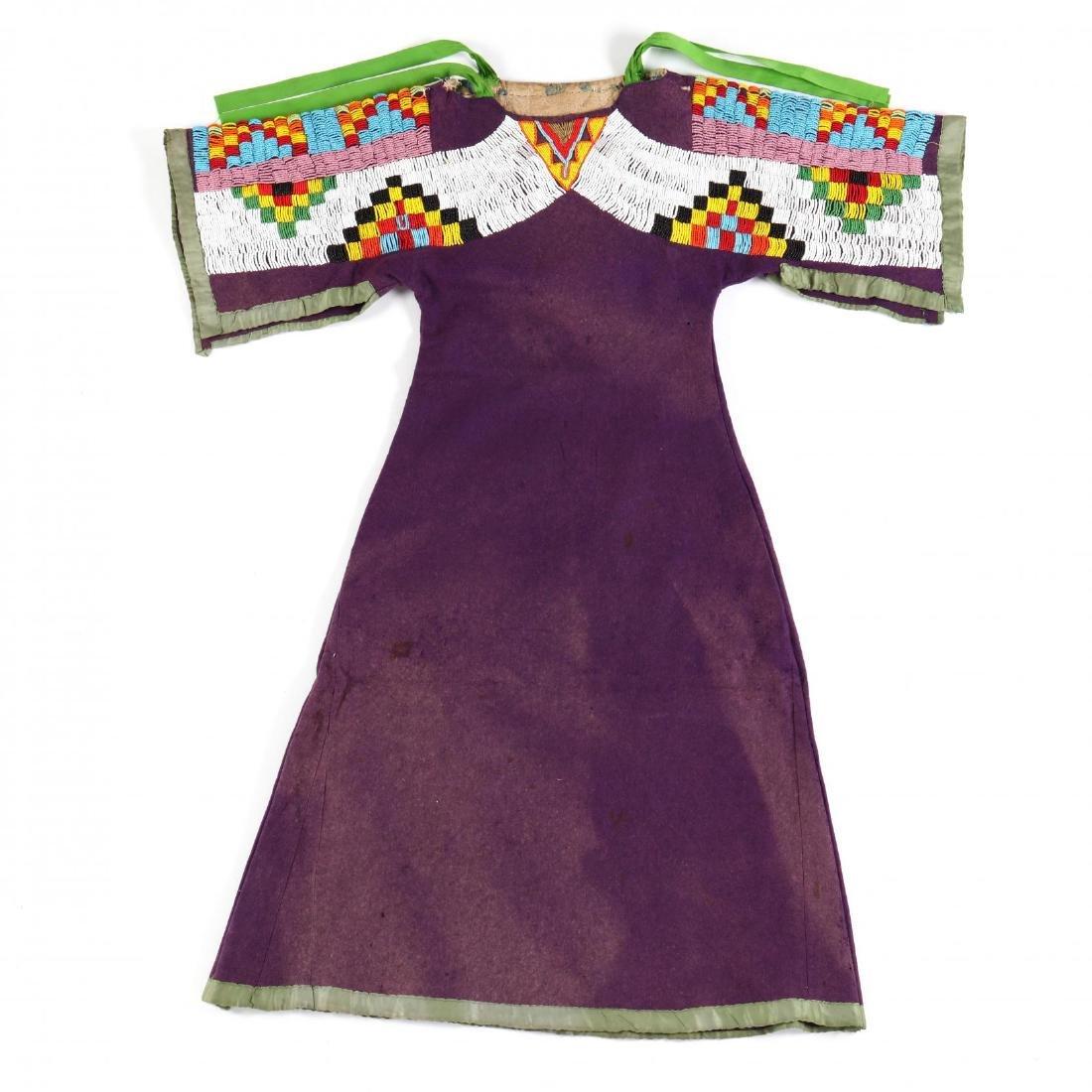Nez Perce, Woman's Beaded Dress