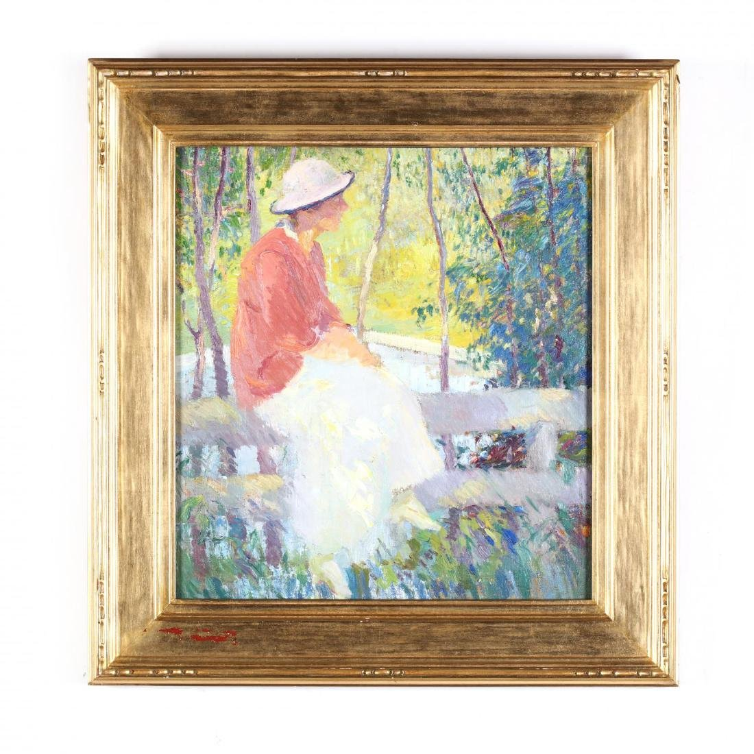 Edmund Marion Ashe (1867-1941),  On the Fence