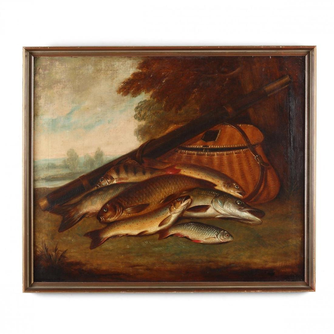 American School Still Life of the Day's Catch