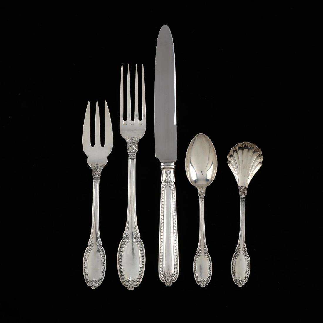 "Buccellati ""Empire"" Sterling Silver Flatware"