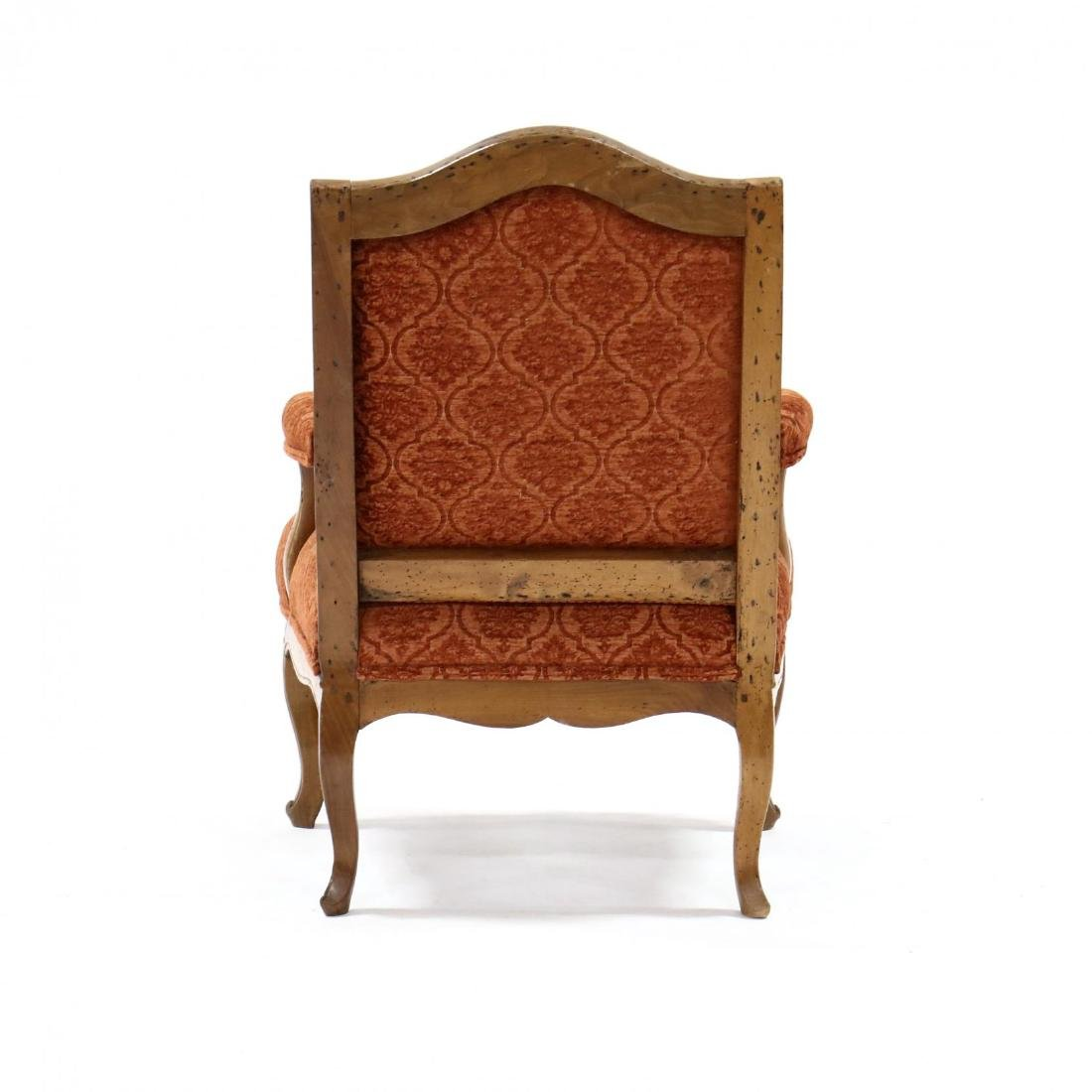 French Carved Faueteuil - 3