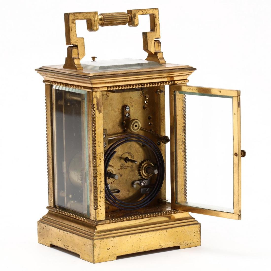 Mitchell Vance & Co., Gilt Bronze Carriage Clock - 4
