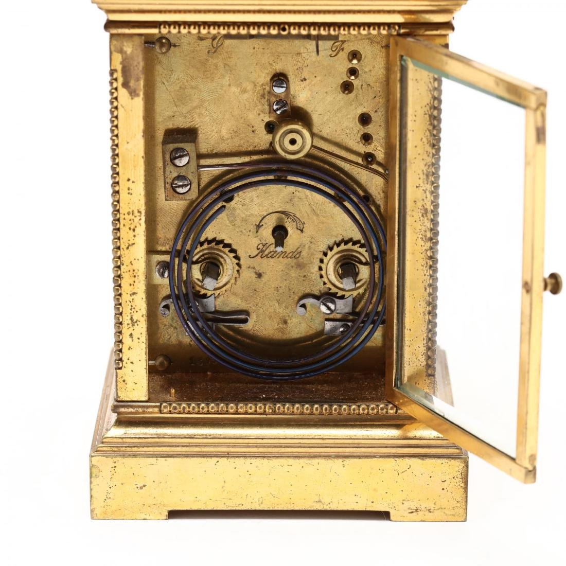 Mitchell Vance & Co., Gilt Bronze Carriage Clock - 5