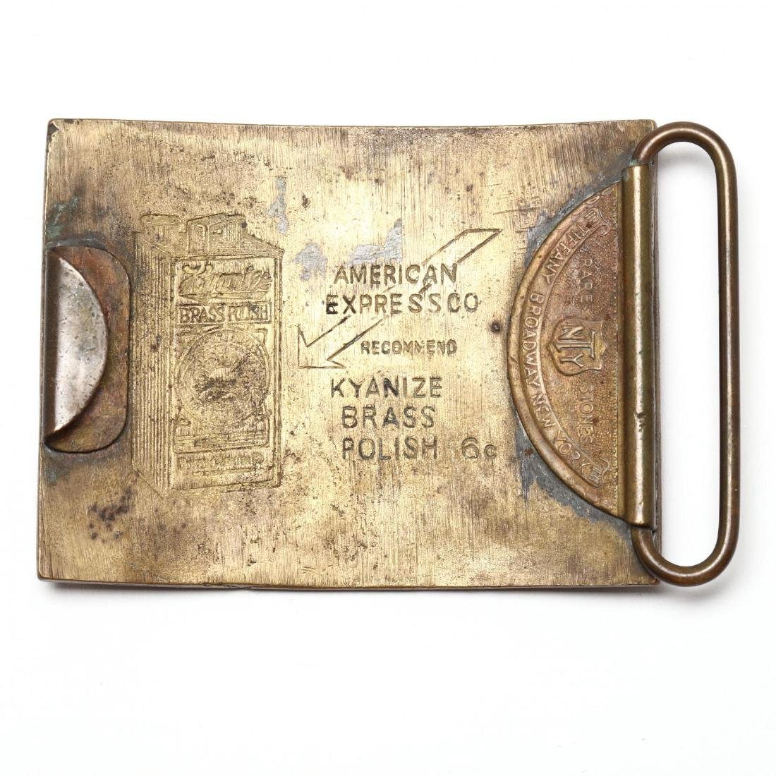 Four Antique Belt Buckles, Including Tiffany - 3