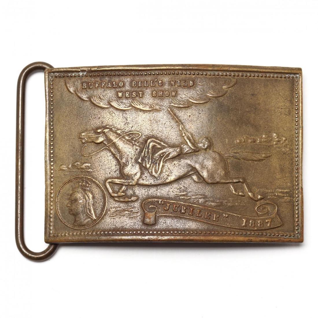 Four Antique Belt Buckles, Including Tiffany - 6