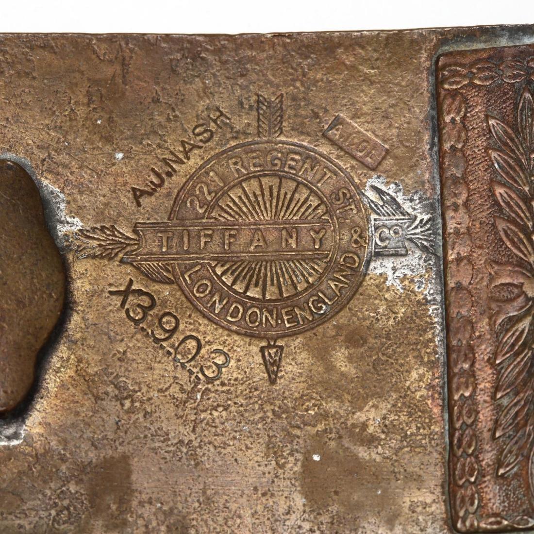 Five Vintage Tiffany Belt Buckles for Wells Fargo & - 3
