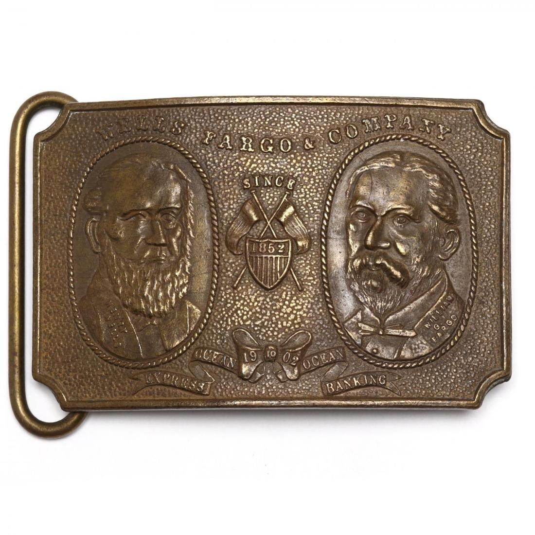 Five Vintage Tiffany Belt Buckles for Wells Fargo & - 4