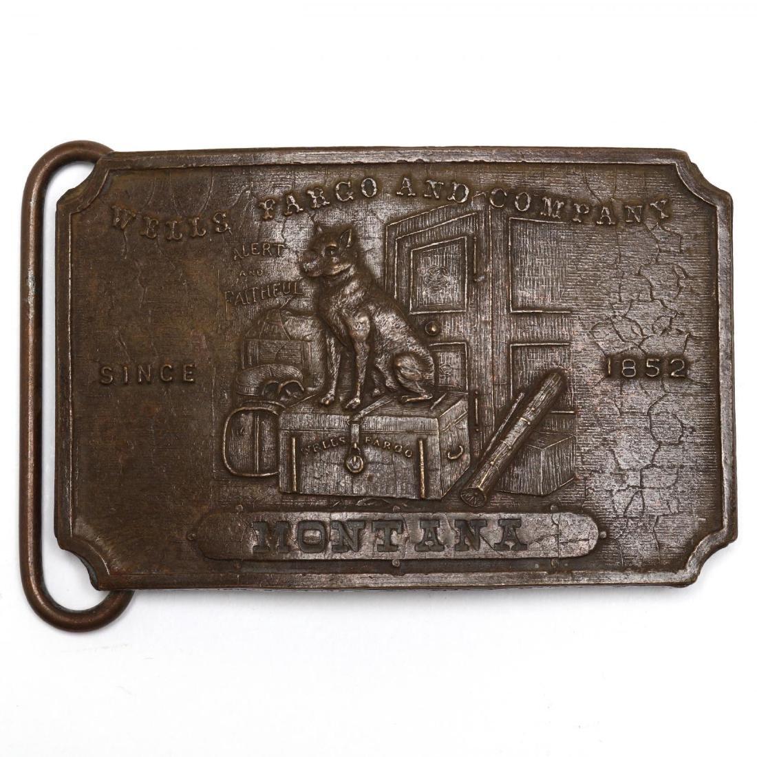 Five Vintage Tiffany Belt Buckles for Wells Fargo & - 5