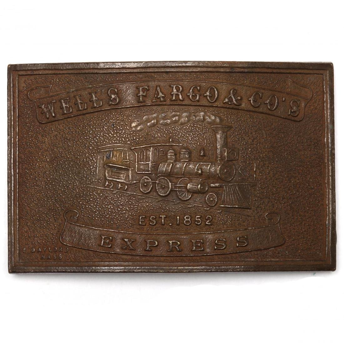 Five Vintage Tiffany Belt Buckles for Wells Fargo & - 6