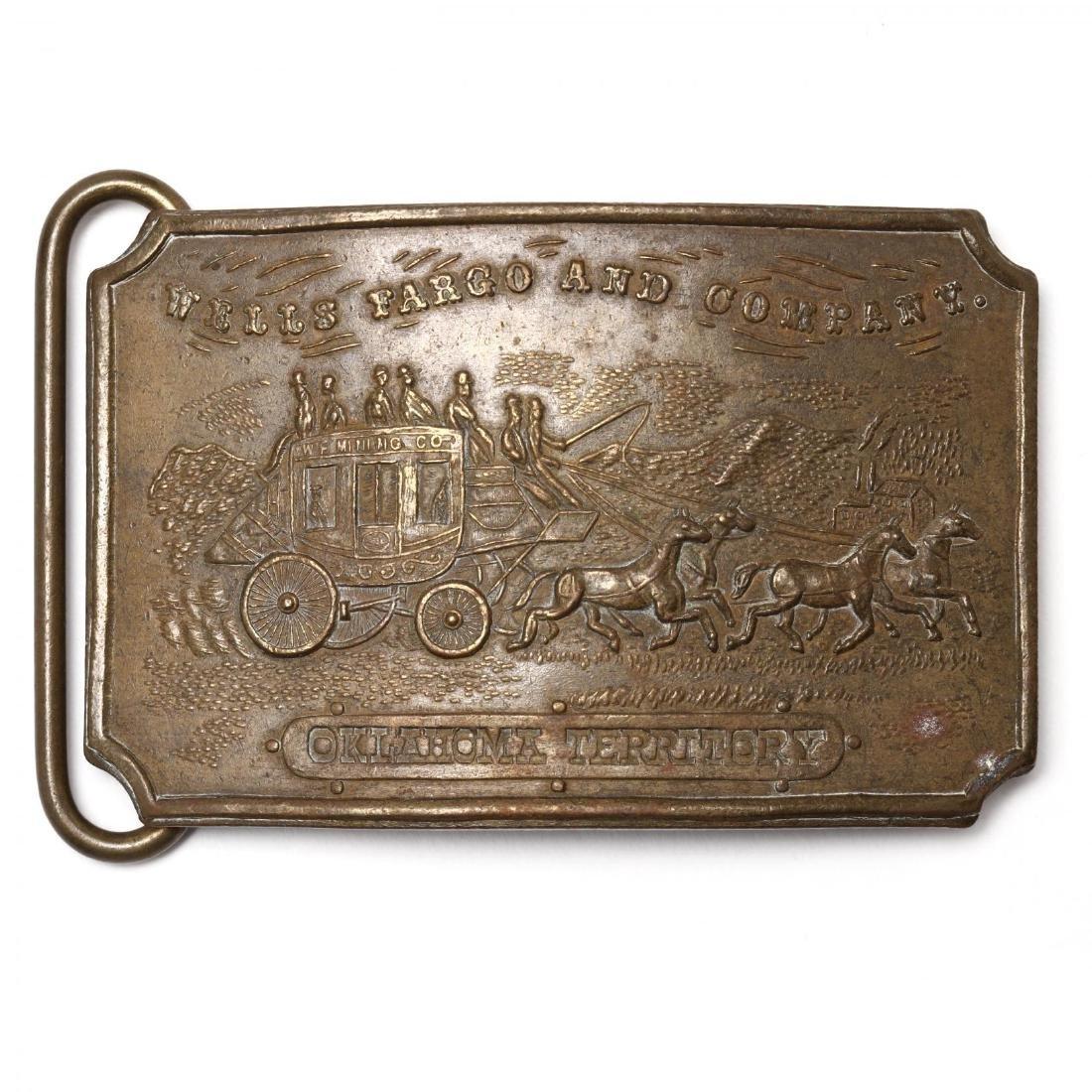 Five Vintage Tiffany Belt Buckles for Wells Fargo & - 8