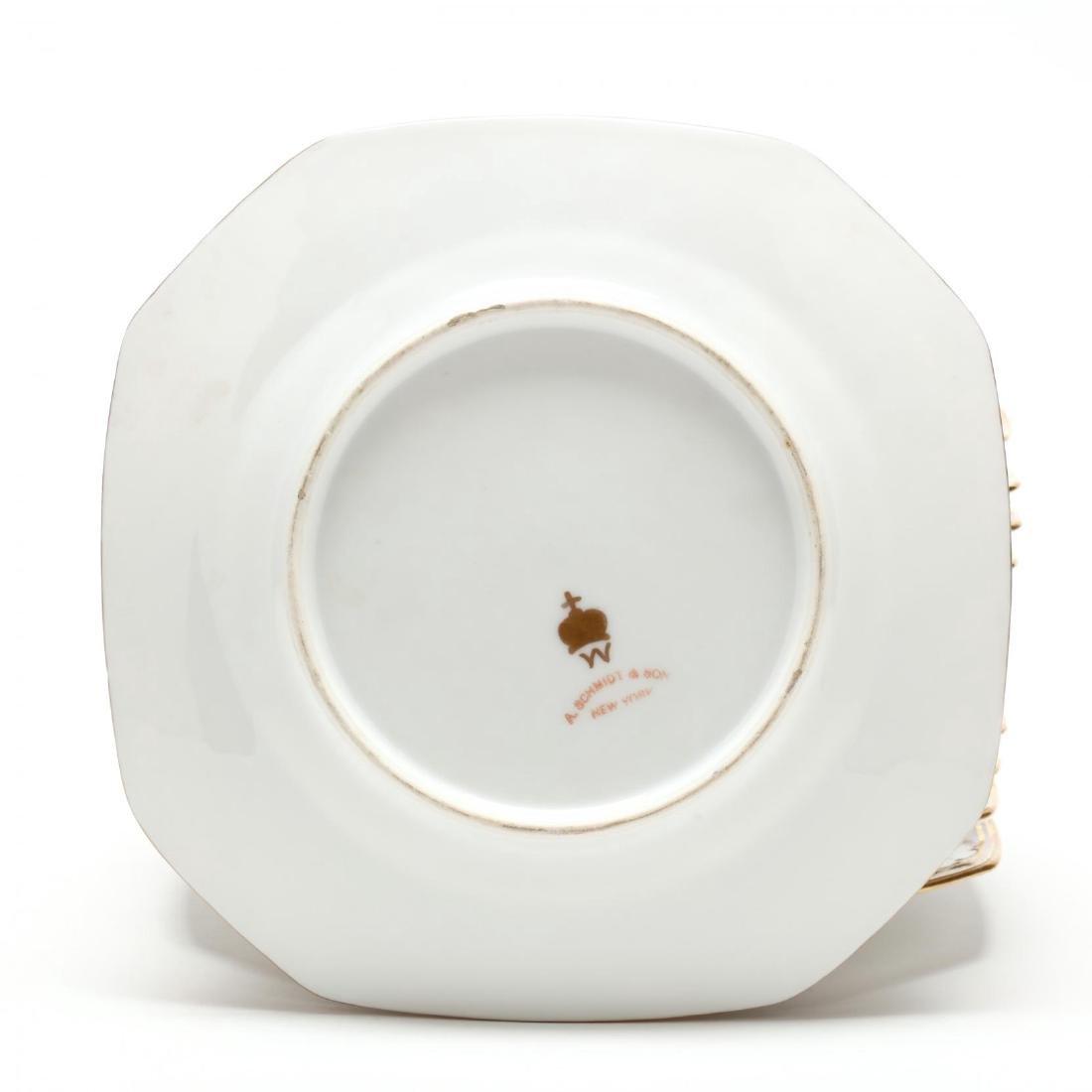A Set of Twelve Porcelain Dessert Plates - 3