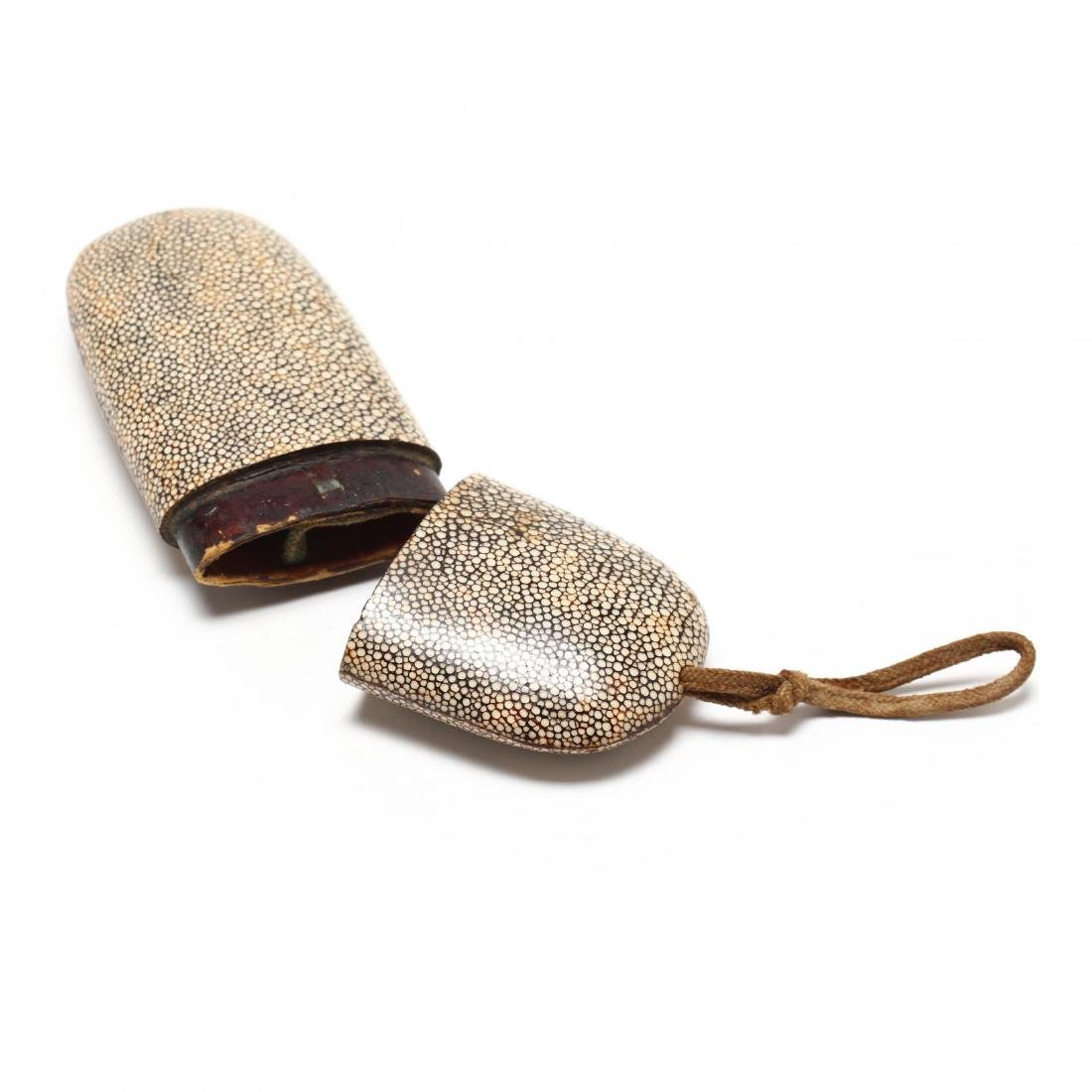 Antique Shagreen Eyeglass Case - 3