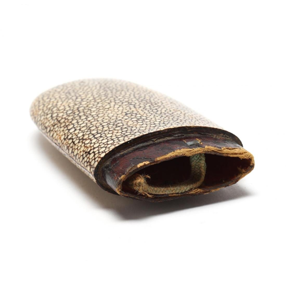 Antique Shagreen Eyeglass Case - 6