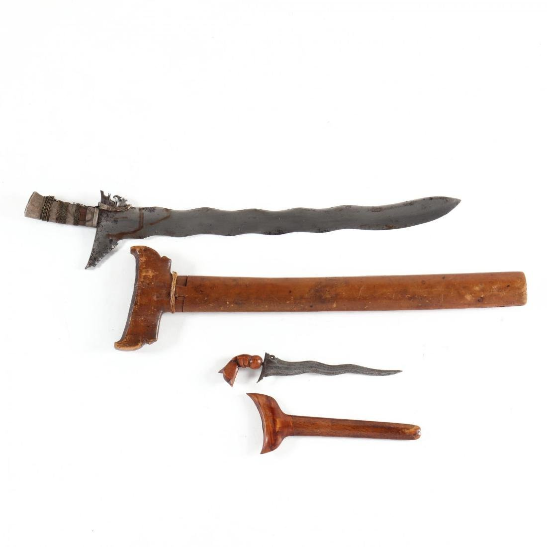 Philippines, Kris Sword and Similar Knife