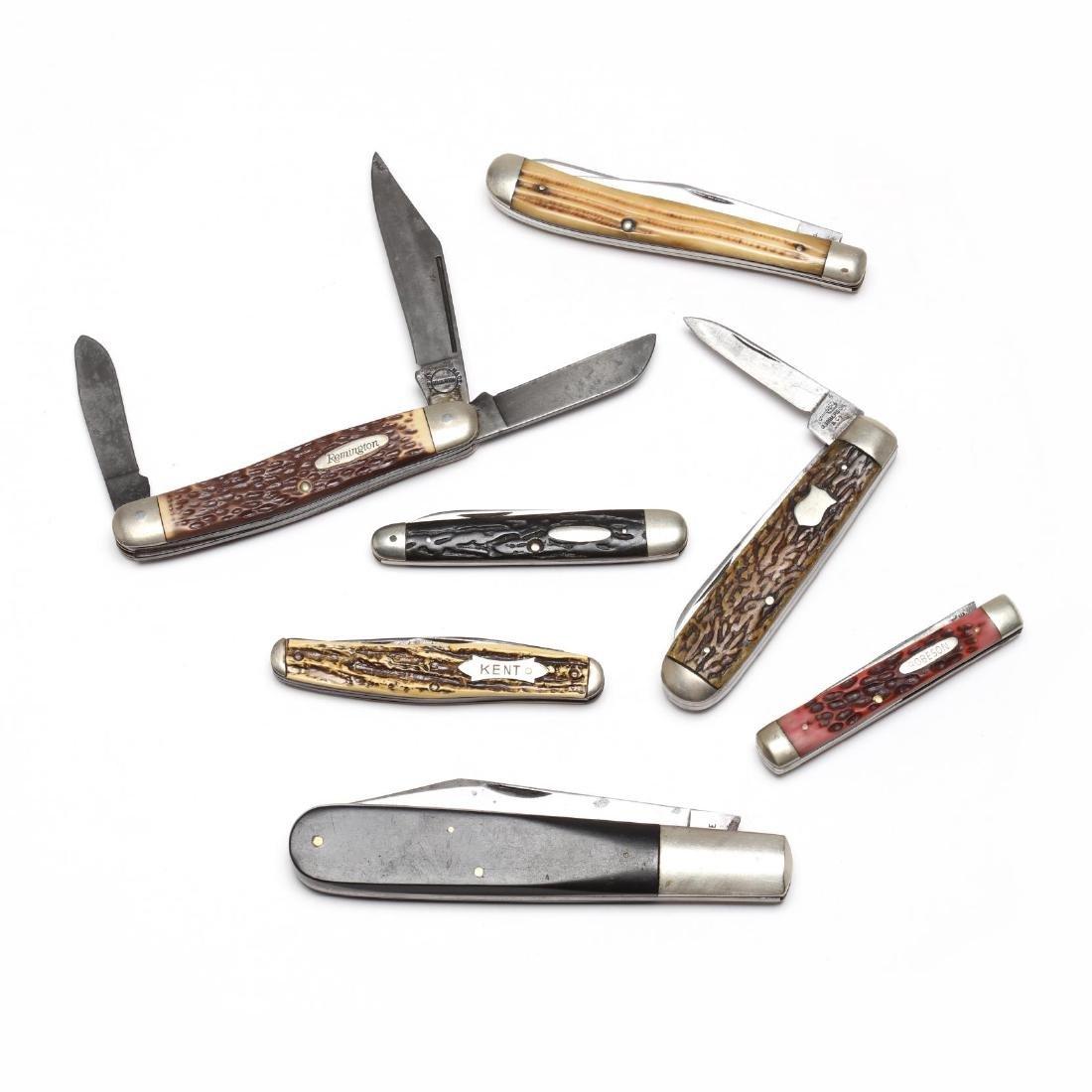 Seven Vintage Pocket Knives